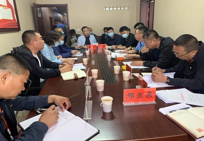 市新疆11选5基本走势图集团对省道223线商兴段进行联合监督检查